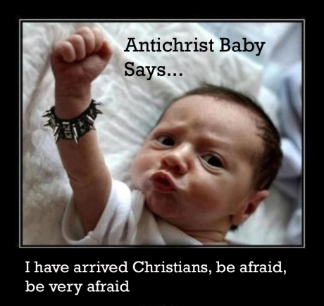 AntiChrist Baby Says