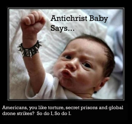 AntiChrist Baby on Torture